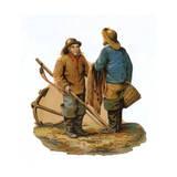 Fishermen Giclee Print