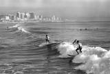 Durban Surfers Fotografisk tryk