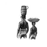 South American Slaves, Brazil Giclee Print