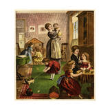 Children in the Nursery Giclee Print