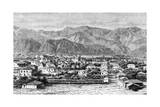 Sparta and the Taygetus Mountains, C. 1880 Giclee Print