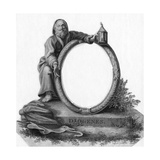 Diogenes with Lantern Giclee Print