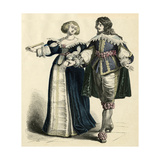 French Couple 1650 Giclee Print