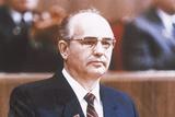 Mikhail Gorbachev Photographic Print