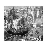 Death of King Richard I Giclee Print