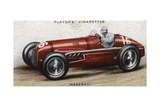 Maserati Racing Car Giclee Print