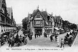 Deauville, Street Scene Photographic Print