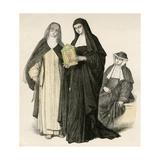 Augustinian Nuns Giclee Print