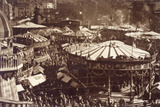 Nottingham Goose Fair Photographic Print