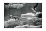 WW1 - French and German Aerial Combat, 1916 Giclee Print