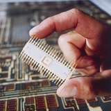 Silicon Chip Photographic Print