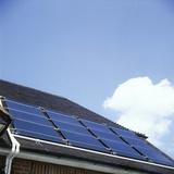 Solar Roof Photographic Print