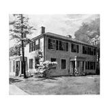 Rw Emerson, Home, Harper Giclee Print