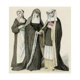 Benedictine Nuns Giclee Print