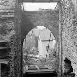 Conway Castle Drawbridge Photographic Print
