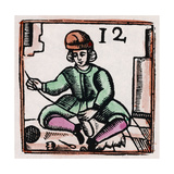 C17 Slipper Maker Giclee Print