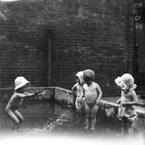 Foundling Toddlers Photographic Print