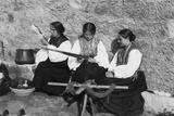 Sardinian Women Photographic Print