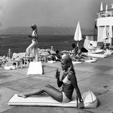 Blondes, Juan Les Pins Photographic Print