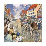 Tour de France Muller Giclee Print