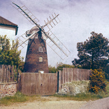 Paston Windmill Photographic Print