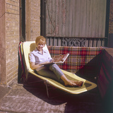Sun Lounger Photographic Print