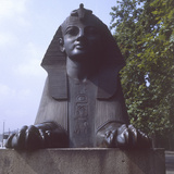 Embankment Sphinx Photographic Print