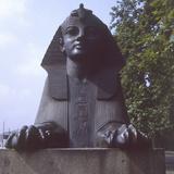 Embankment Sphinx Photographic Print