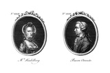 Horace Walpole and Friend Giclee Print