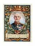 Admiral Sir Henry Jackson, Stamp Giclee Print