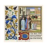 Funerals, Jehan de Lyon Giclee Print