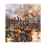 Civil War Dublin 1922 Giclee Print