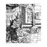 St Boniface, Bishop Giclee Print