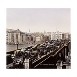 London Bridge, Late 19C Photographic Print