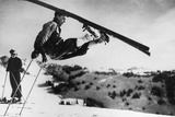 Athletic Skier Photographic Print
