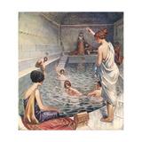 Roman Baths, London Giclee Print