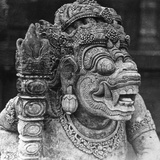 Bali Temple Figure Photographic Print
