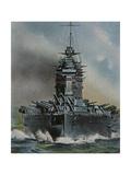 HMS 'Rodney' Giclee Print