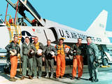 Mercury 7 Astronauts Photographic Print