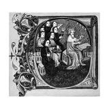 King David and His Choir Giclee Print