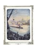 At London Bridge Giclee Print