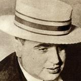 Al Capone 1930S Papier Photo