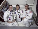 Apollo 7 Prime Crew Photographic Print