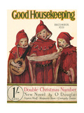 Good Housekeeping Front Cover, December 1931 Reproduction procédé giclée