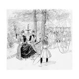 Paris, France - Champs-Elysees Giclee Print