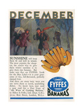 Advert, Fyffes Bananas Giclee Print