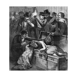 Body of Alice Bowlsby Found in a Trunk Giclee Print