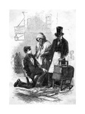 Pieman and Costers Giclee Print