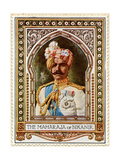 Maharaja of Bikaner, Stamp Giclee Print