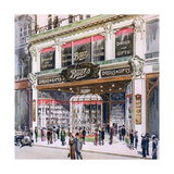 Boots, Regent Street Giclee Print